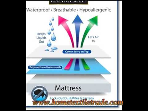 New Design Breathable Terry Clothing Waterproof Mattress Cover