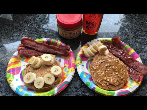 Chatty Cook With Me - Power Cakes and Turkey Bacon