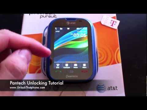 How To Unlock Pantech Phone - Locate IMEI and Update data / Remove