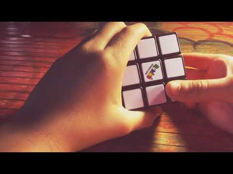 How to make the checker patten on the rubik cube 3x3