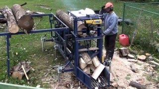 Homemade Firewood Processor - Update