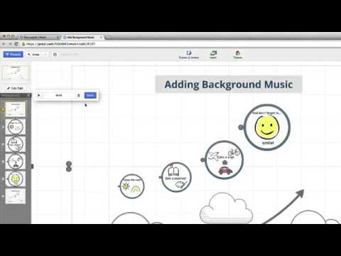 Prezi Tutorial  Adding Background Music mka2805