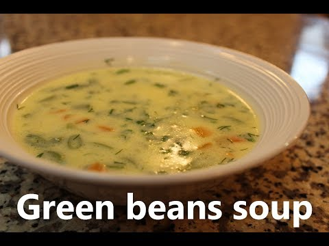 Green beans soup recipe