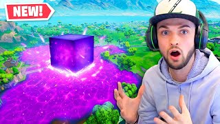 The *NEW* LAVA LAKE CORRUPTED in Fortnite!