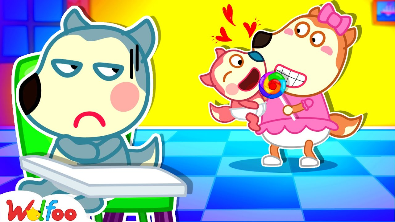 Wolfoo, Don't Be Angry with Lucy! - Don't Feel Jealous of Baby - Wolfoo Kids Stories   Wolfoo Family