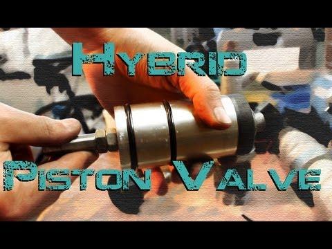 New Piston Valve for the Piston Hybrid Cannon