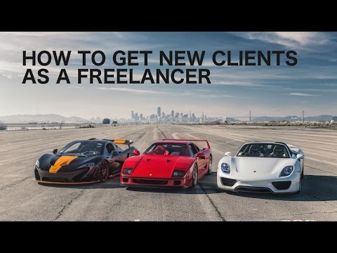 How to get new clients as a freelancer