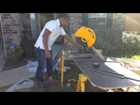 Cutting Iron Balusters