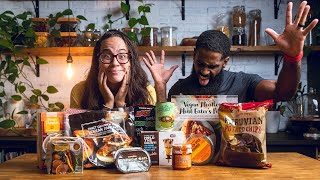 What's New and Vegan at Trader Joe's | Fall 2021 | Vegan Grocery Haul / Taste Test