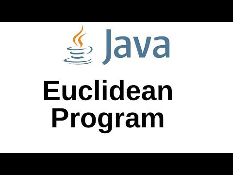 Java Greatest Common Divisor Program: GCD Eucleadians Algorithm