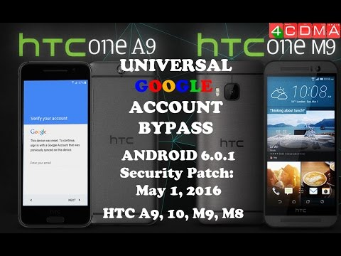 NEW METHOD!!! Dec 2016 ALL HTC FRP GOOGLE BYPASS ACTIVATION! NO PC, NO OTG! FAST! 6.0.1