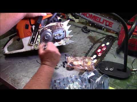 My Saws :) Farmer Jones 660 update and Homelite XL925 Debug (Fuel Line)