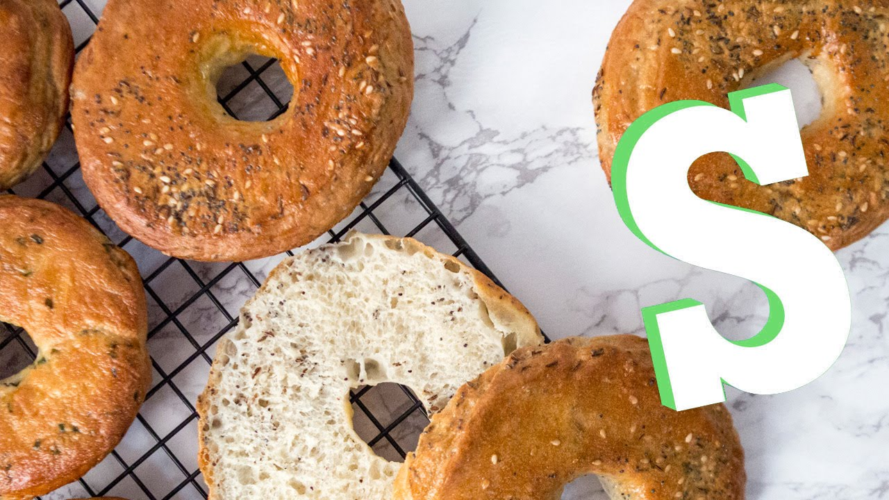 Homemade Bagel Recipe - SORTED