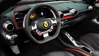 Ferrari 812 Superfast INTERIOR Video Geneva 2017 Review New Ferrari INTERIOR Video 2018 CARJAM TV