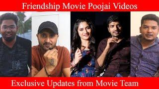 Friendship Movie shooting spot videos | Losliya | Harbhajan Singh | Arjun | Sathish