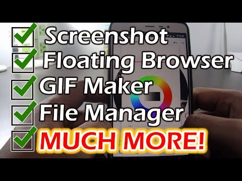 How to use Fooview Float Browser on Android