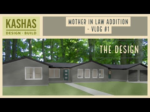 Mother in law addition - vlog #1 - The Design