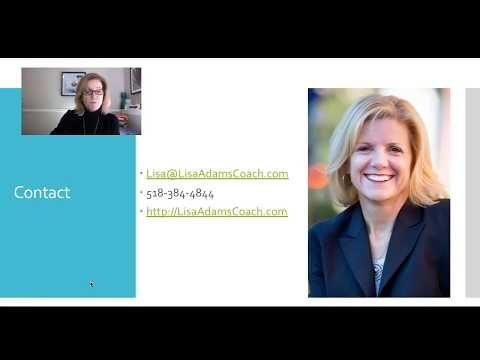 Lisa Adams 6 Step Process to Job Search