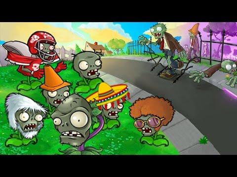 Plants vs Zombies MOD ZOMPLANT! vs MOD ZOMBOTANY! (Part 4)