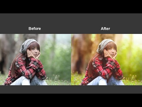 How To Adjust The Colors Using Camera Raw Filter In Photoshop CC