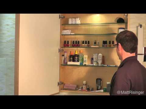 Hidden Giant Medicine Cabinet