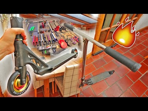 BUILDING A PRO SCOOTER FROM SPARE PARTS!!