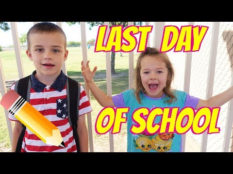 LAST DAY OF SCHOOL - Morning Routine For Last Day of 2nd Grade