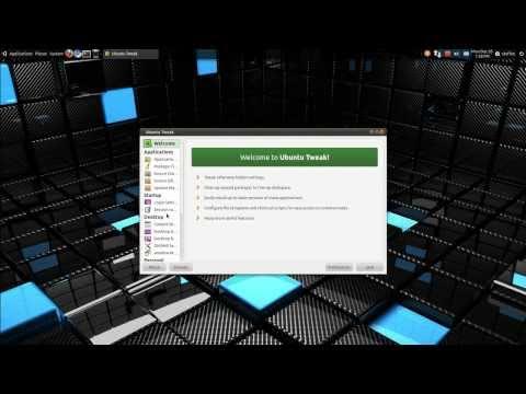 Transparent Menus - CCSM - Ubuntu 10.10