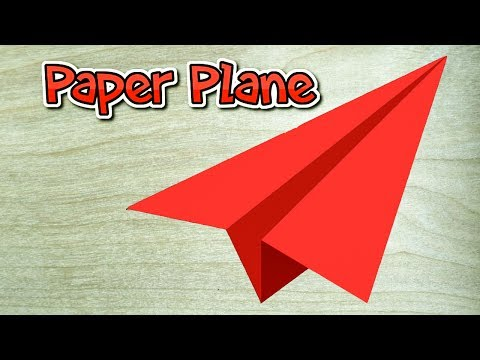 How To Make a Fastest Paper Airplane That Fly Far || BEST Origami Paper Planes in the World|| RxFact