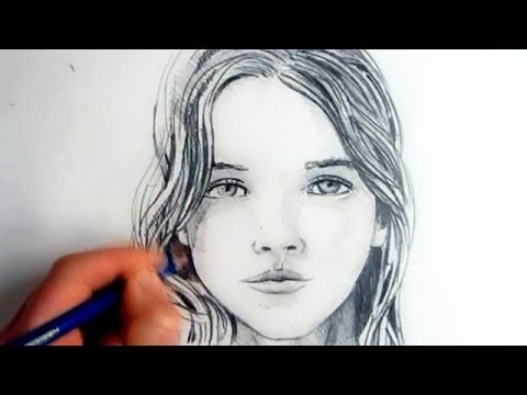 How To Draw A Female Face: Step By Step