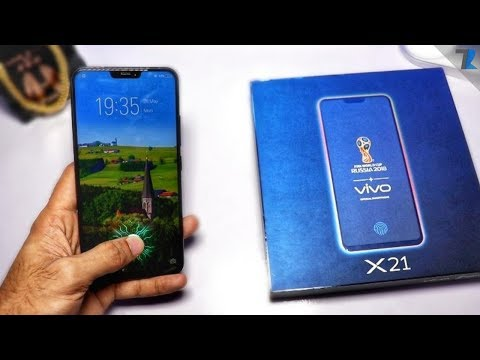 Vivo X21 Unboxing & Hands On [India] - Under Display Fingerprint Scanner is Great!