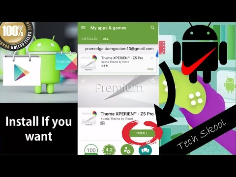 (New)How to Reinstall Deleted Apps in Google Play(2017)100% Working