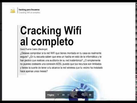 CRACKING WIFI AL COMPLETO    HACKEANDO REDES WIFI GRATIS! libro pdf