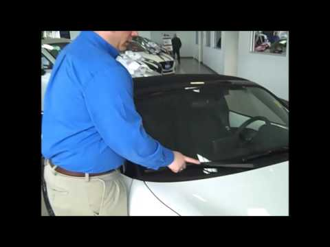 How to replace your wiper blades on a  Mazda
