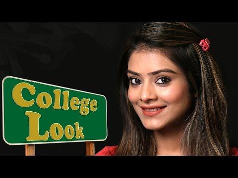 Everyday College Look | College Look Makeup Tutorial | How To Look Stylish | Foxy Makeup Tutorials