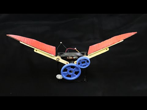 How To Make A Flying Bird Robot At Home | 2 amazing idea | flying bird robot | Be Creative |