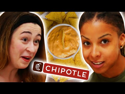 People Try Chipotle's New Queso Dip