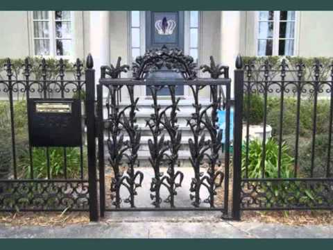 Wrought Iron Gates - Picture Collection