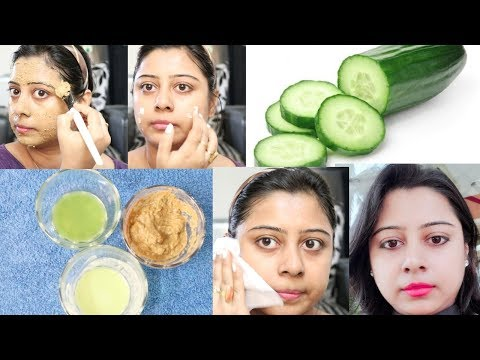 How to do Cucumber Facial to get Clear Skin, Spotless Skin