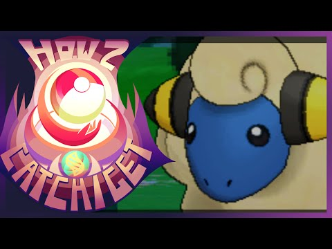 How & Where to catch/get - Mareep in Pokemon X and Y