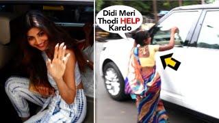 Shilpa Shetty's Shameless Behavior With A BEGGAR When She Asks For Money