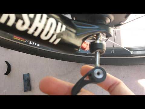 Bike inspection for damage