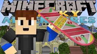 Minecraft Adventure - Sharky and Scuba Steve - HOVERBOARDING IN DONNY