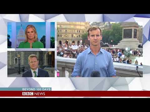 Discussion about Donald Trump's UK visit