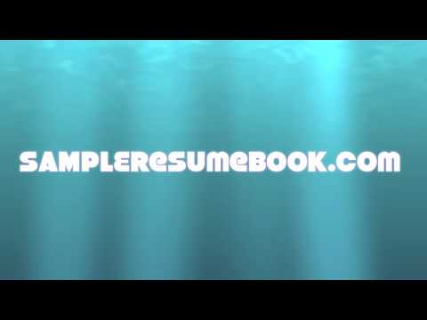 Free Resume Samples - Watch Now!