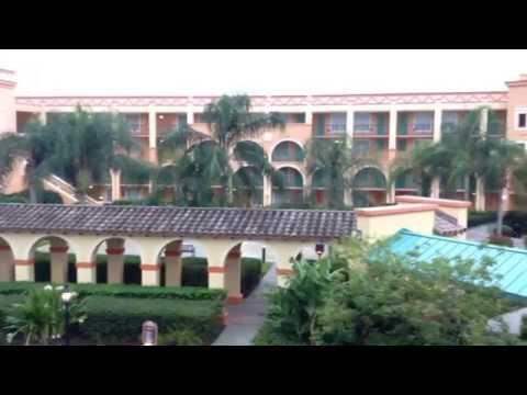 Disney's Coronado Springs - Brief look at the Casitas Buildings