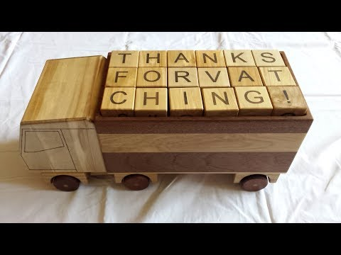Making a wooden toy car