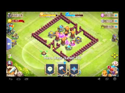 castle clash - base design th 13 for hbm n m k l J