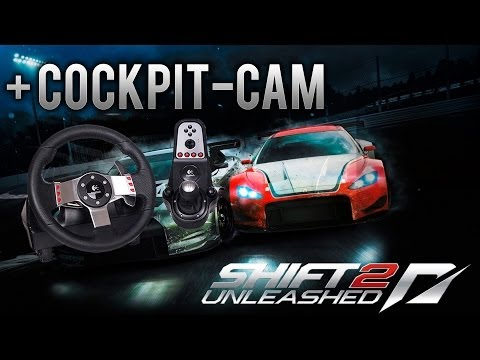 Need for Speed Shift 2 Unleashed + Logitech G27 (Manual Clutch/Shifting) | Cockpit Cam (HD)