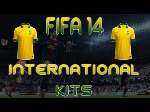 FIFA 14 Ultimate Team International Kits - Brazil